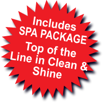 Includes Spa Package
