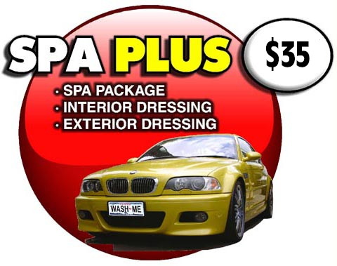 Spa Plus Package at $33.95